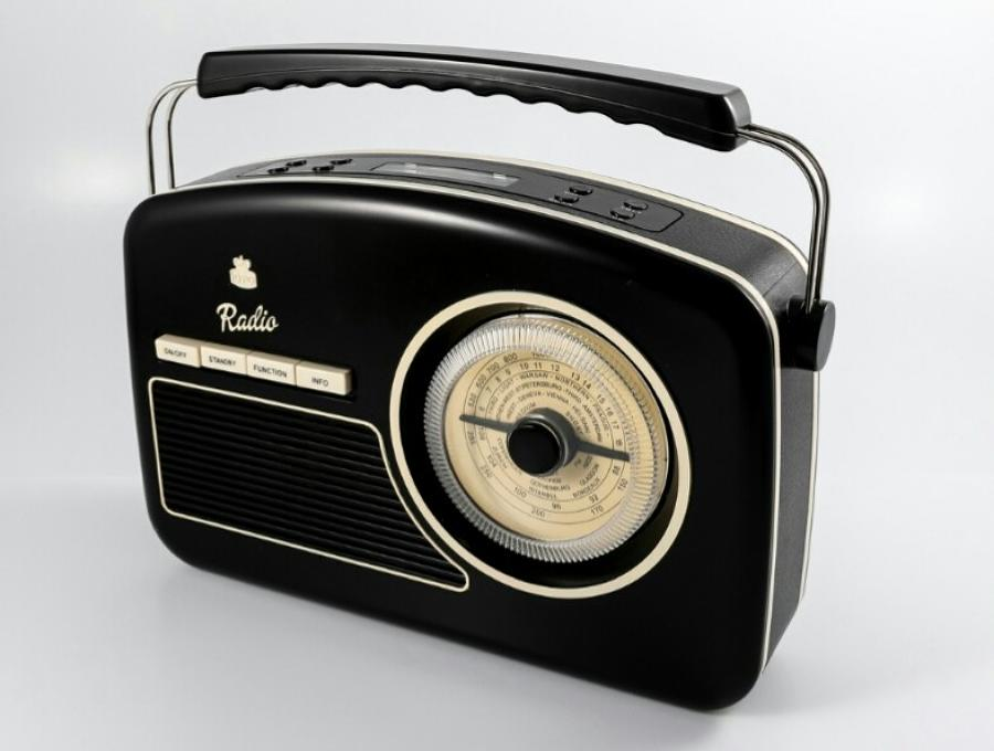 Rydell DAB Retro Radio Black