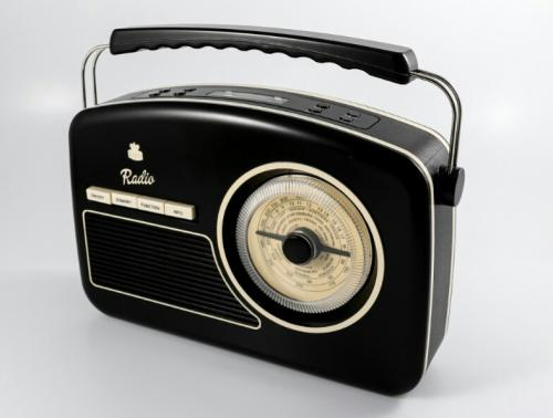 Rydell DAB Retro Radio Black