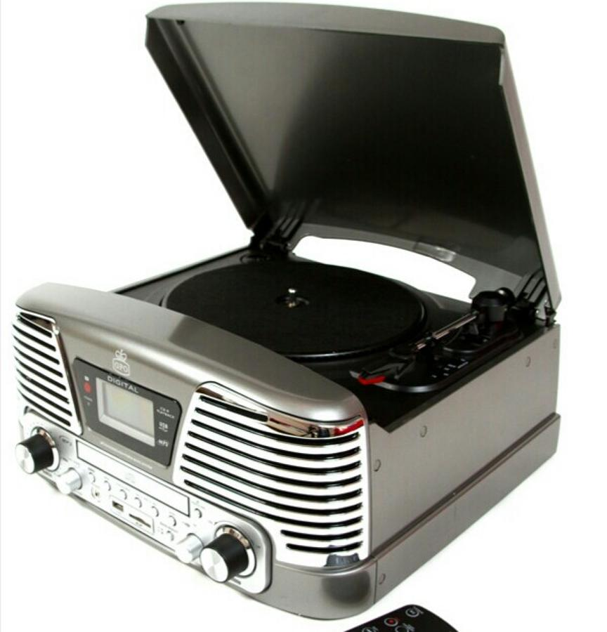 Memphis Turntable Black
