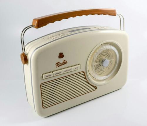GPO Rydall DAB Radio Cream