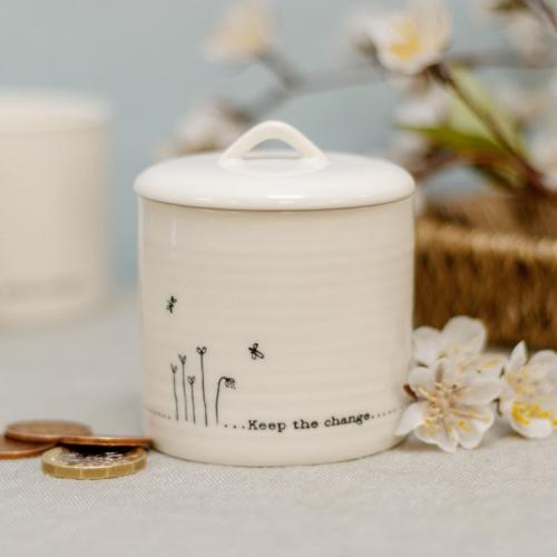 Wobbly lidded pot - keep the change