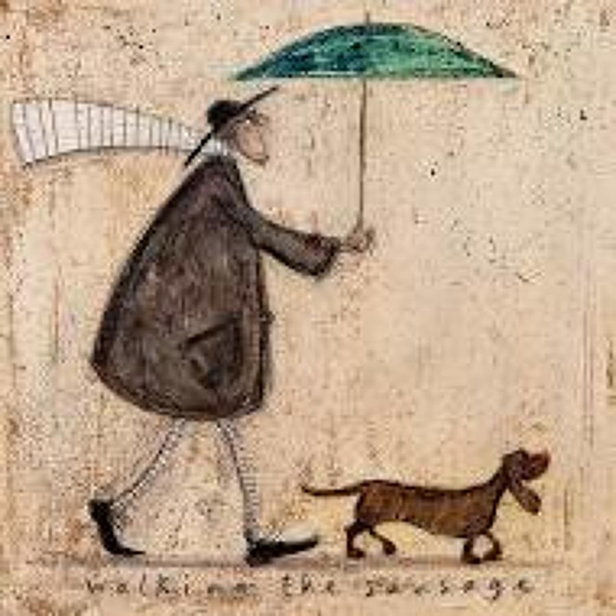 Sam Toft - walking the sausage