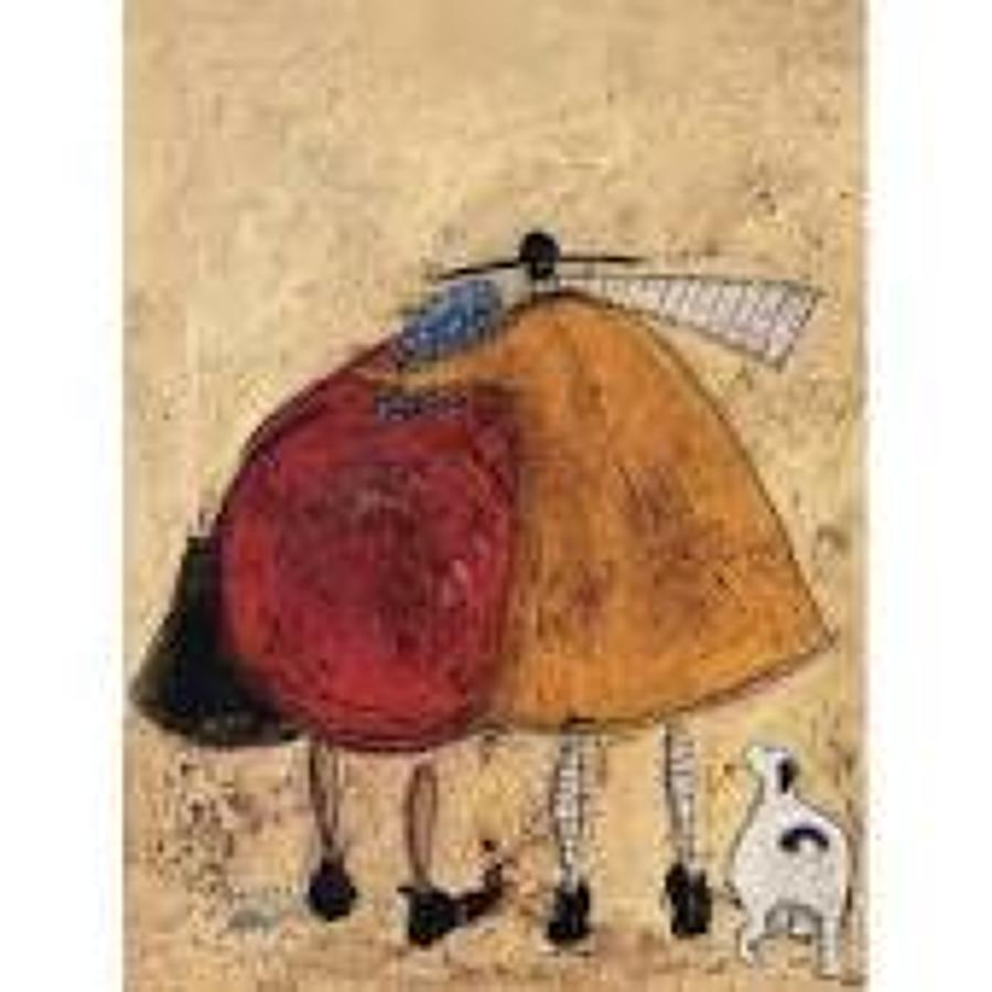 Sam Toft - hugs on the way home