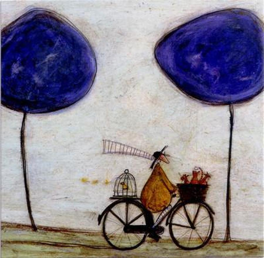 Sam Toft - free wheeling with Joyce Greenfield