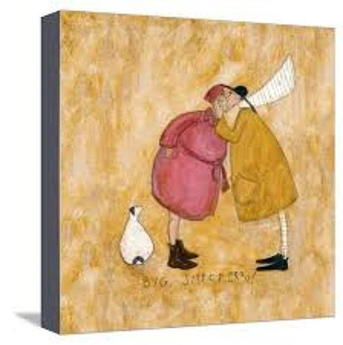 Sam Toft - a big smackeroo