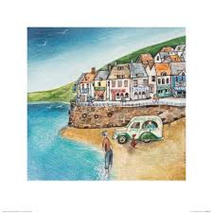 Joe Ramm - canvas print - Cornish