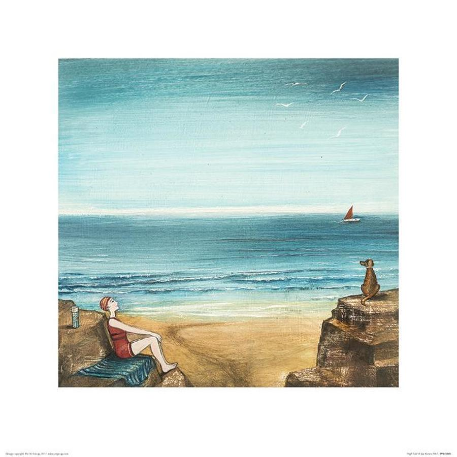Joe Ramm - canvas print - High Tide