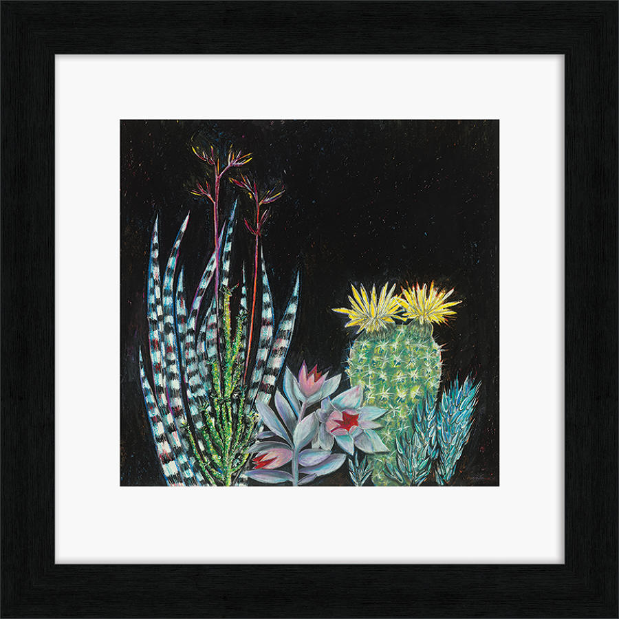 Shyama Ruffell - Framed print - Dark Tropical 2
