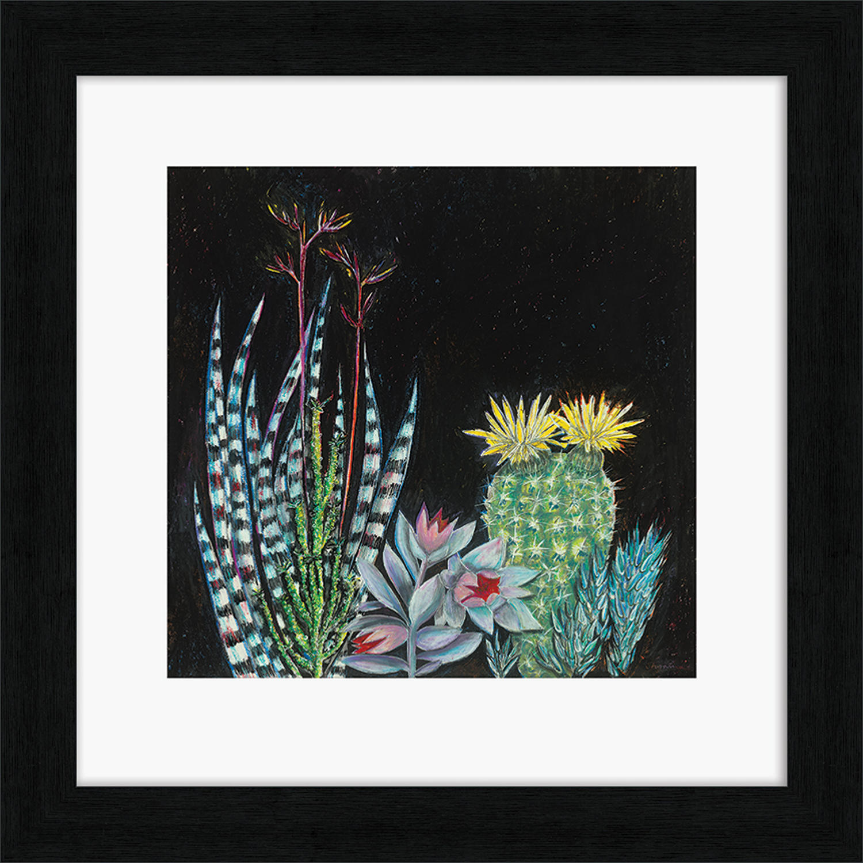 Shyama Ruffell - Framed print - Dark Tropical 2