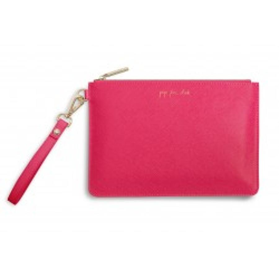 Katie Loxton - Secret message Pouch - Pop Fizz Clink Its Time To Drink
