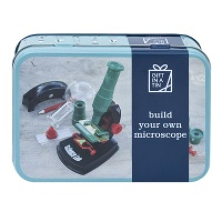 Gift in a Tin - Build your own Microscope