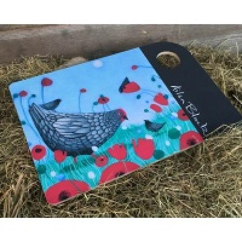Ailsa Black Cutting Board/Cheese Board - Counting Chicks