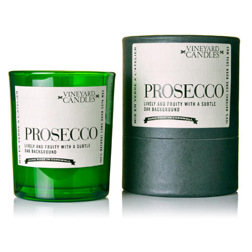 Vintage Candles - Single shot size - Prosecco