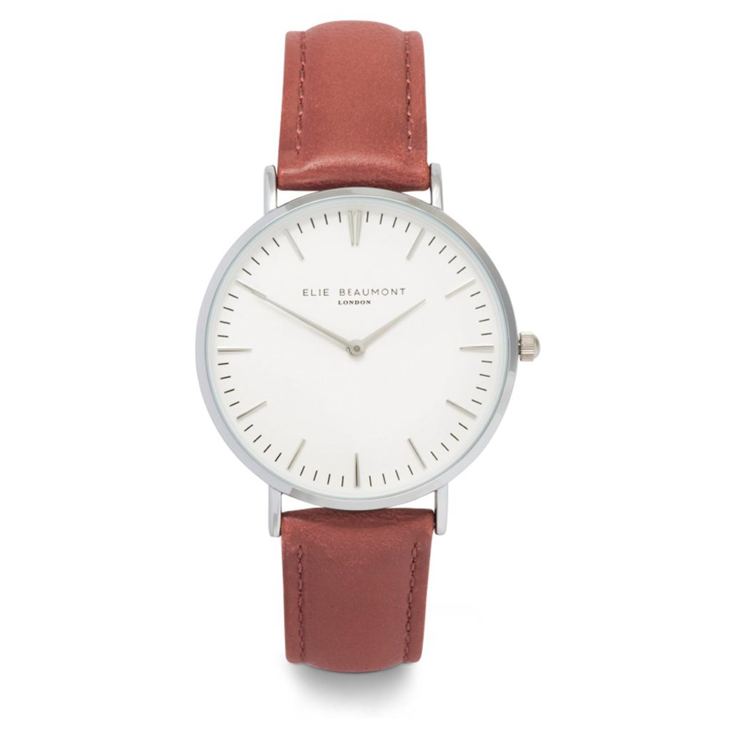 Elie Beaumont - Oxford large Blush Pink Ladies Watch