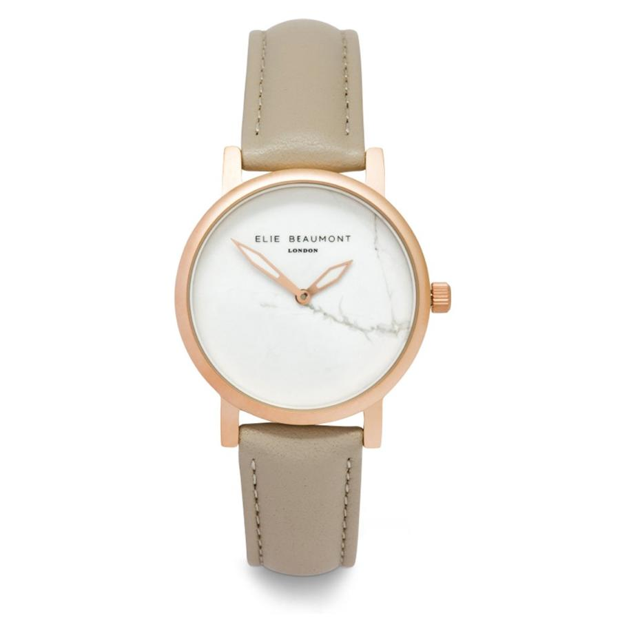 Elie Beaumont - Carrara Stone ladies Watch