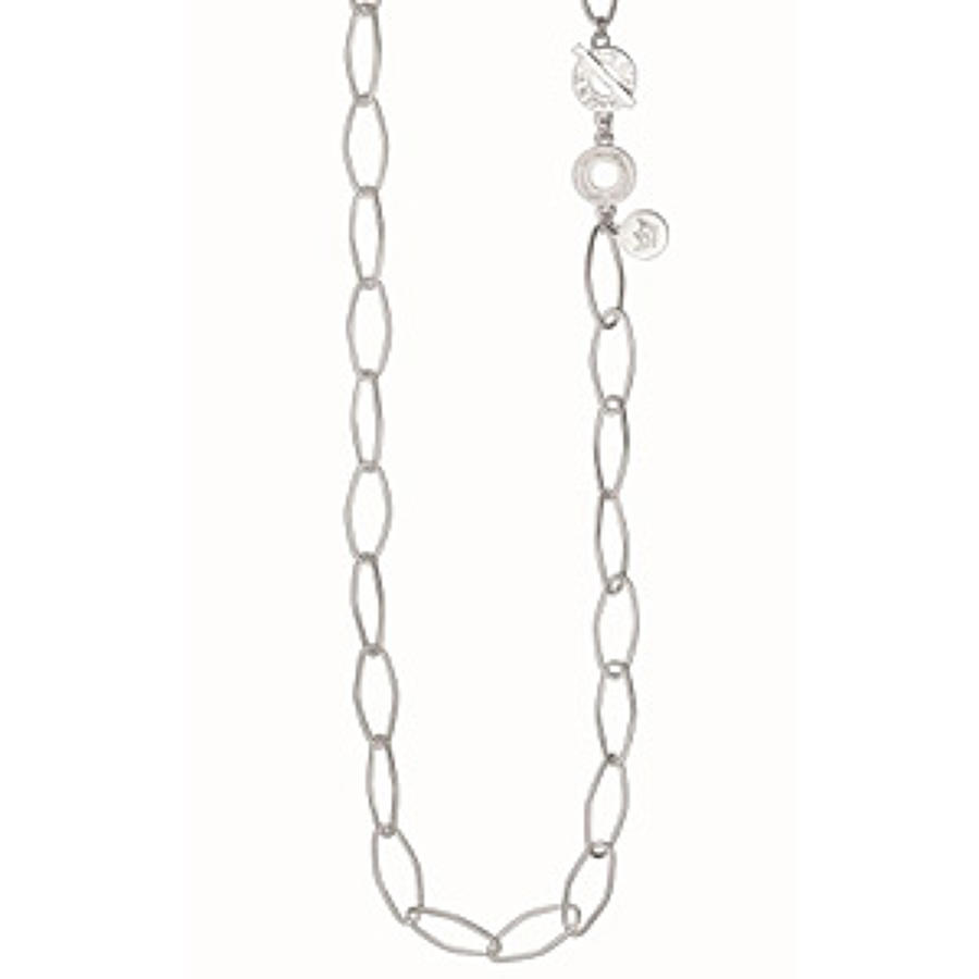 Sence - Essentials necklace matt silver 90cm