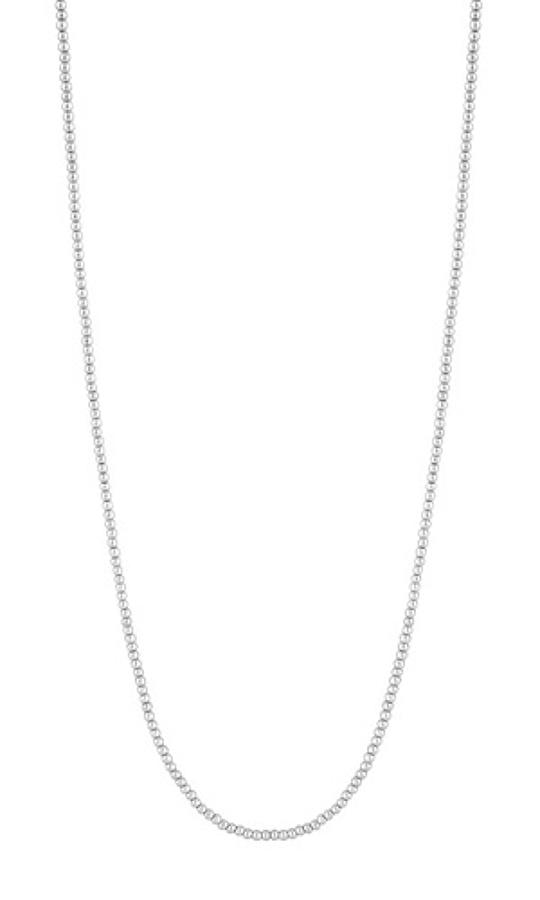Sence - Basic necklace worn silver