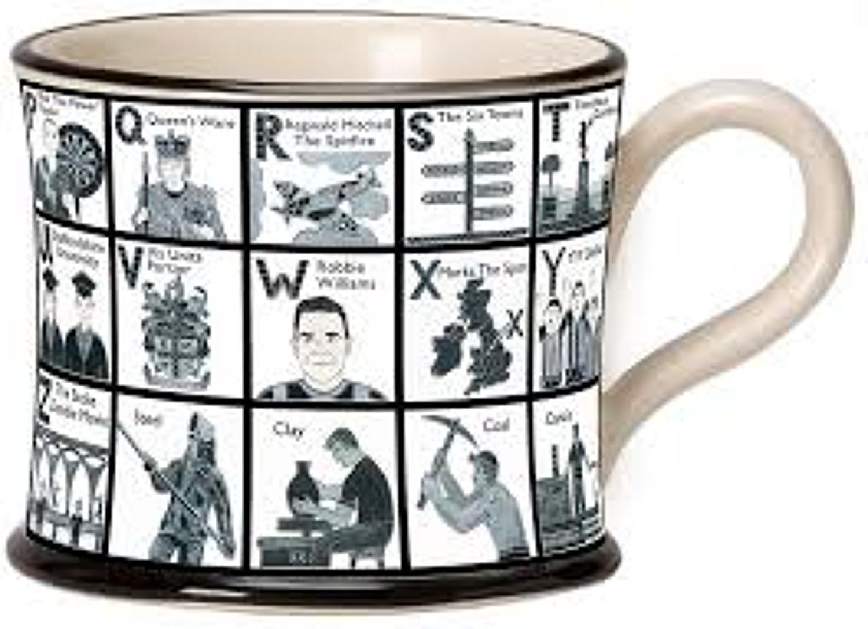 Moorland Pottery - Alphabet Mug