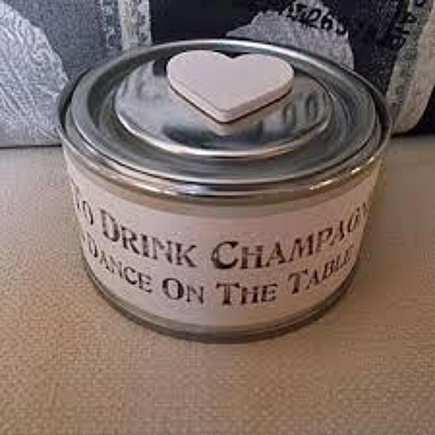 East of India - Candle - Time to drink Champagne & dance on the table