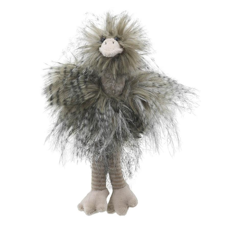 Wilberry feathery friends - Ostrich small