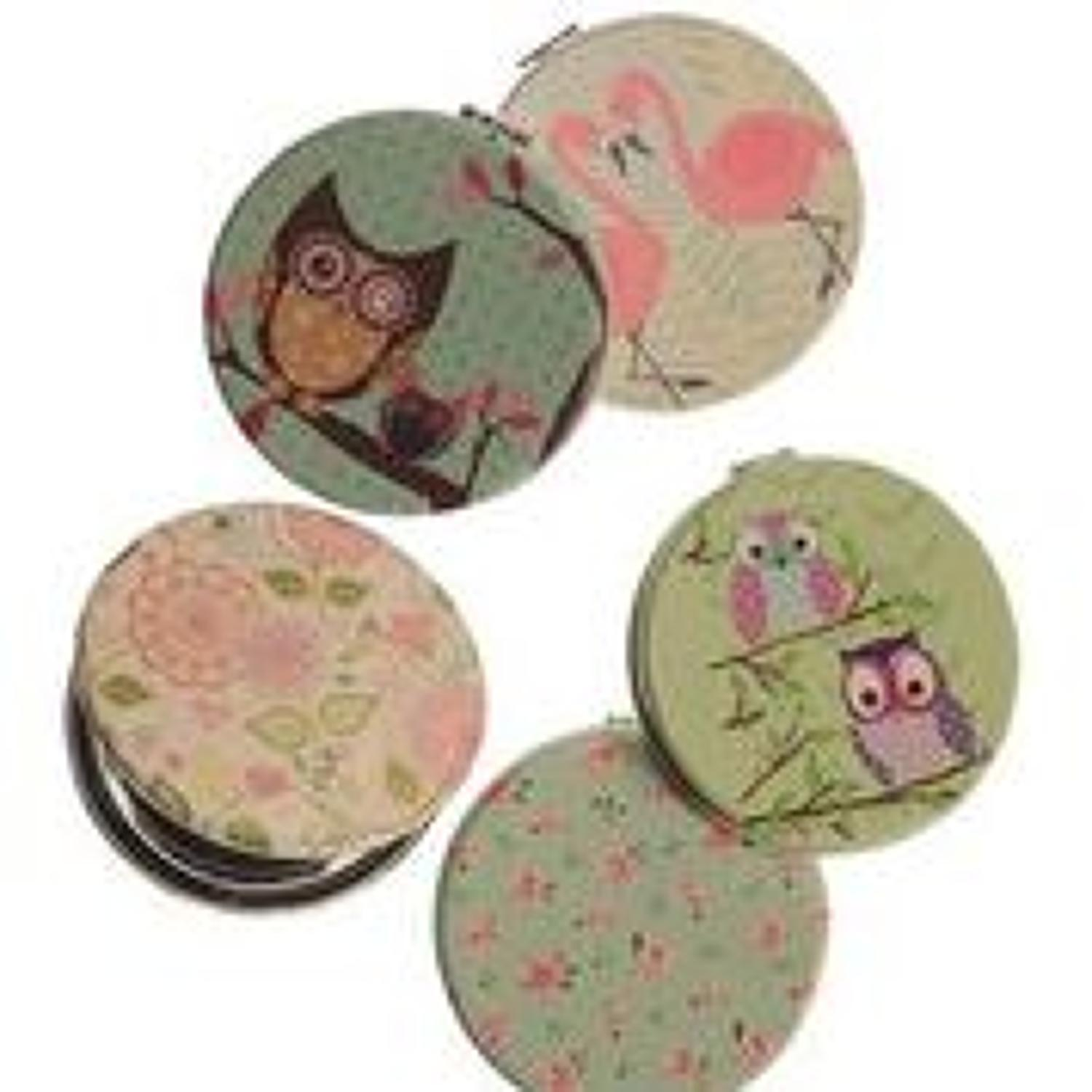Hot tomato - Vintage style compacts - Assorted