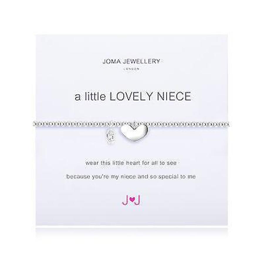 Joma jewellery - A little - Lovely neice - Silver plated bracelet