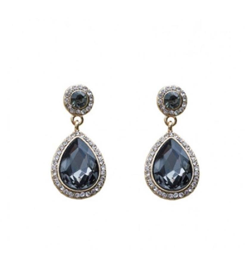 Belle & Flo - Tear drop earrings