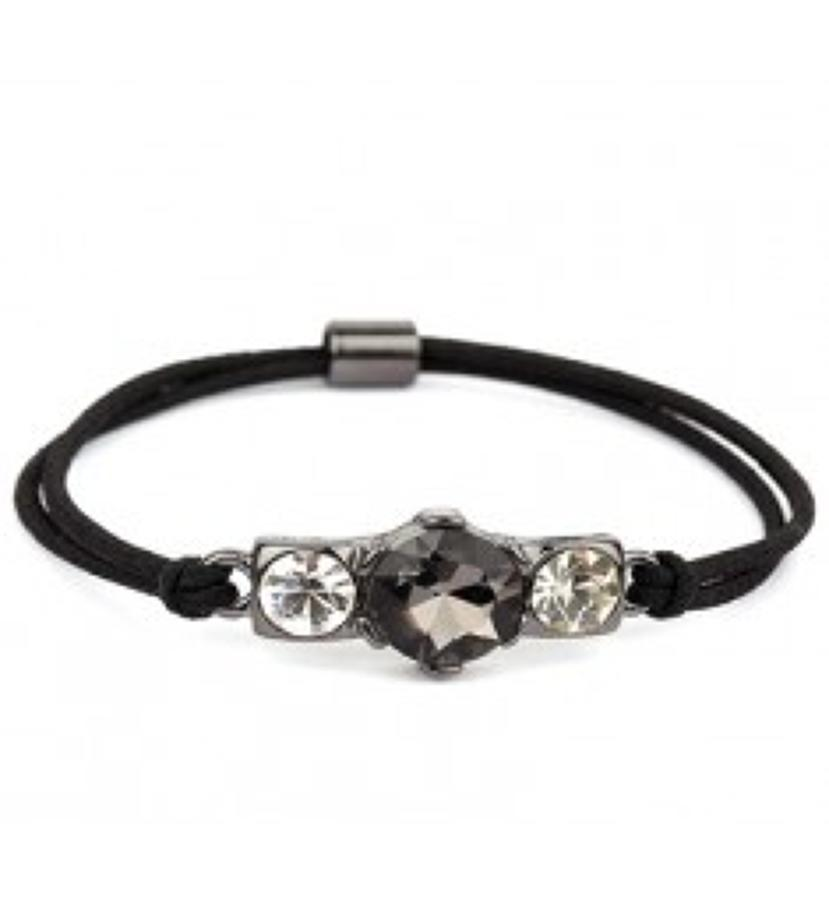 Belle & Flo - Cluster stretch crystal bracelet