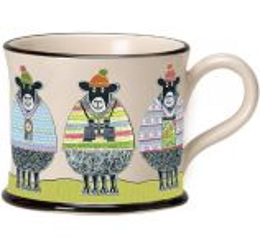 Moorland Pottery - Mug - Woolly ramblers