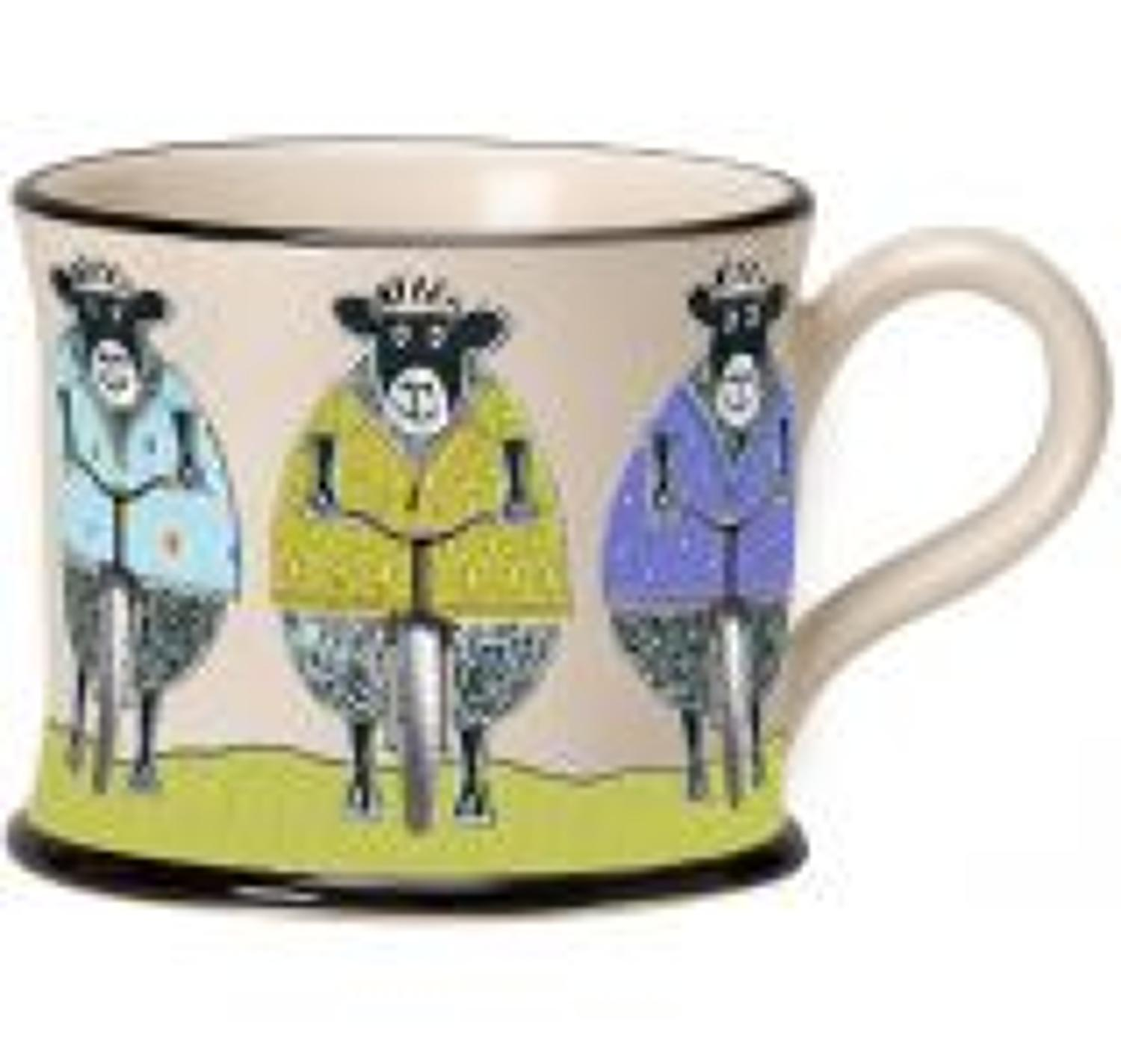 Moorland Pottery - Mug - The woolly bikers