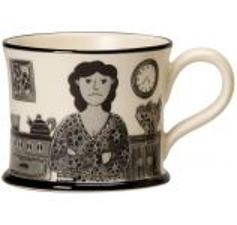Moorland Pottery - Mug - Grumpy old women