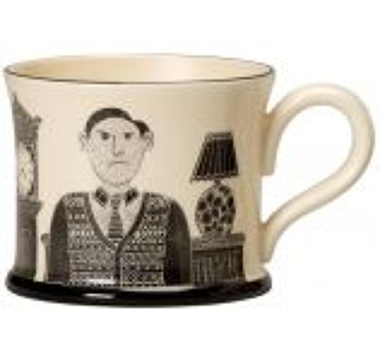 Moorland Pottery - Mug - Grumpy old man