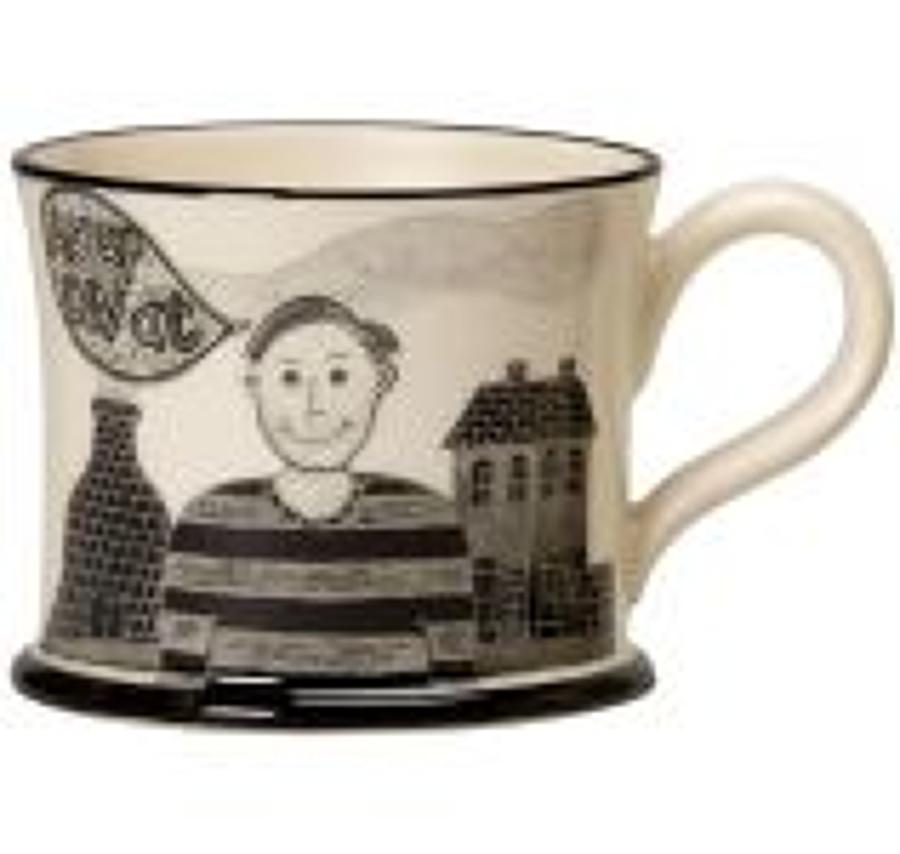 Moorland Pottery - Mug - Stokie bloke