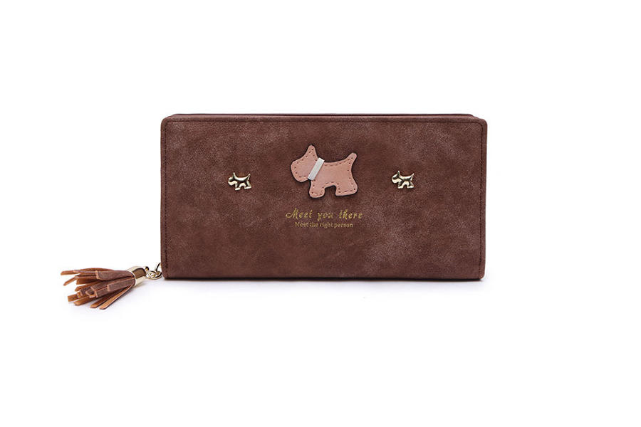 L & S - Large purse ref 12295 - Brown
