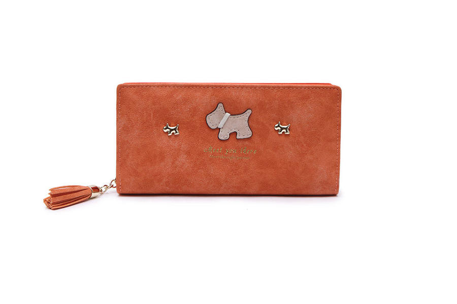 L & S - Large purse ref 12295 - Orange