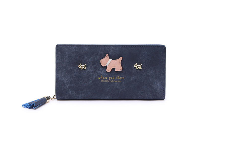 L & S - Large purse ref 12295 - Navy