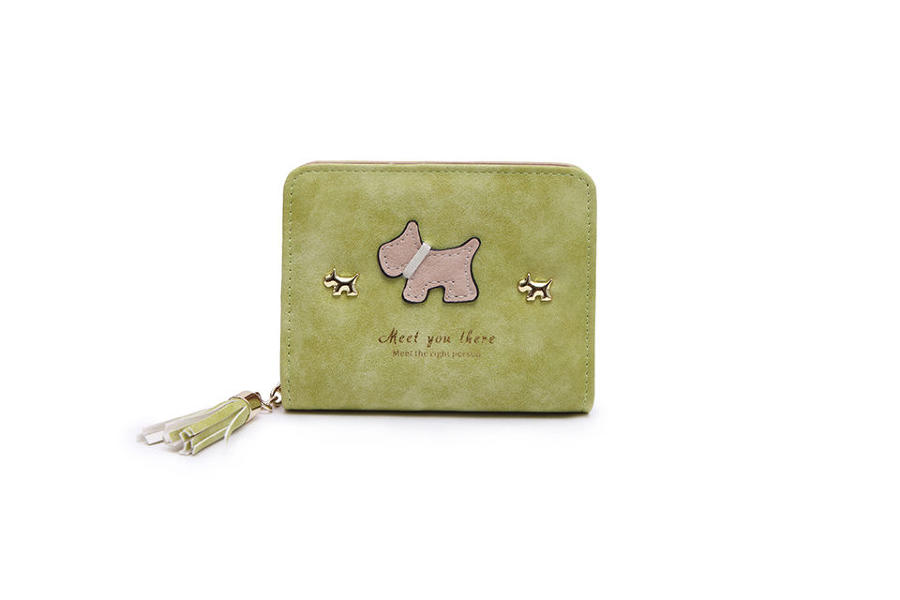 L & S - Small purse ref 12294 - Green