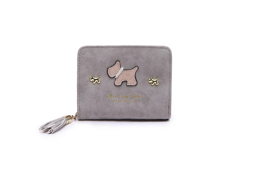 L & S - Small purse ref 12294 - Light grey