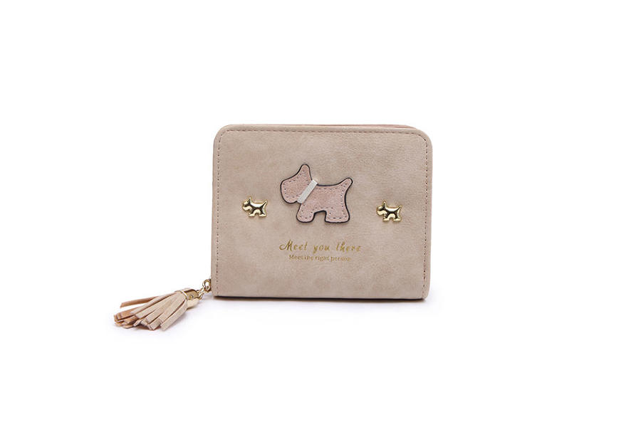 L & S - Small purse ref 12294 - Beige