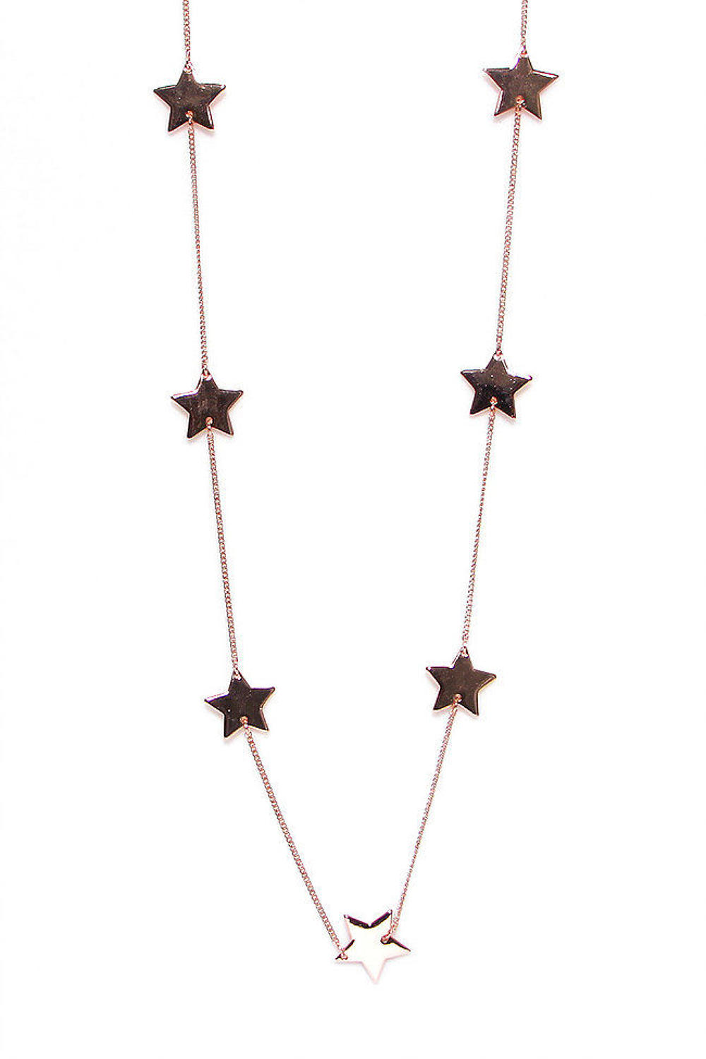 Envy - Rose gold star necklace