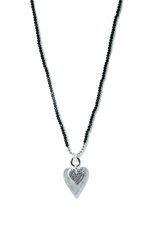 Envy - Silver heart necklace - Ref 129GRNF