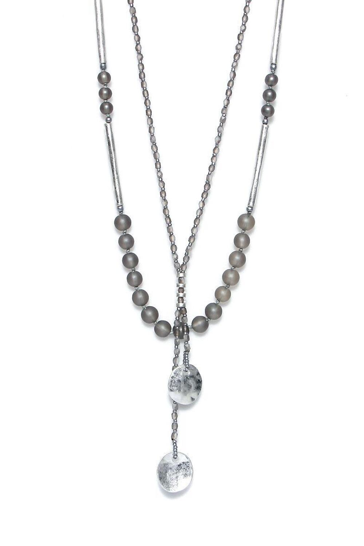 Envy - Silver bead necklace - Ref 62SLNH