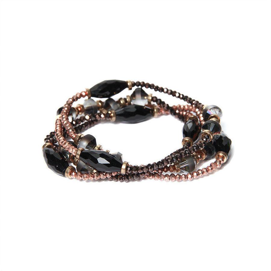 Envy - Multi strand gem bracelet