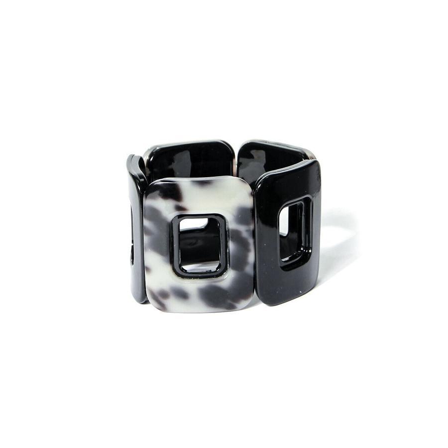 Envy - Silver squared bracelet