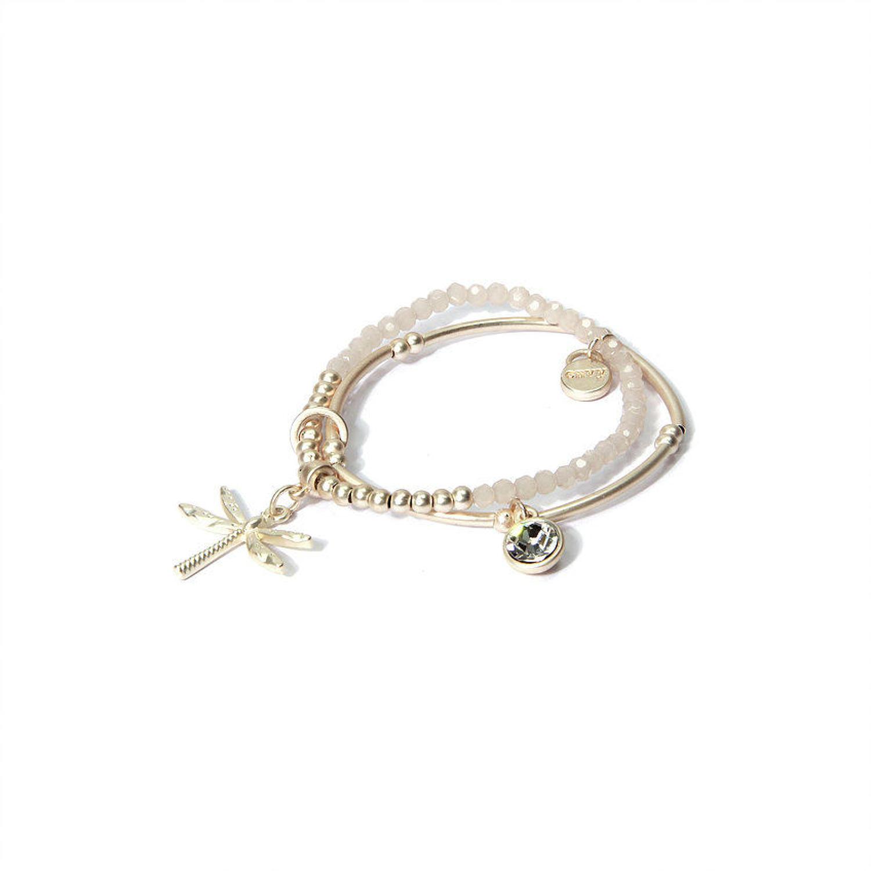 Envy - Beaded dragonfly bracelet