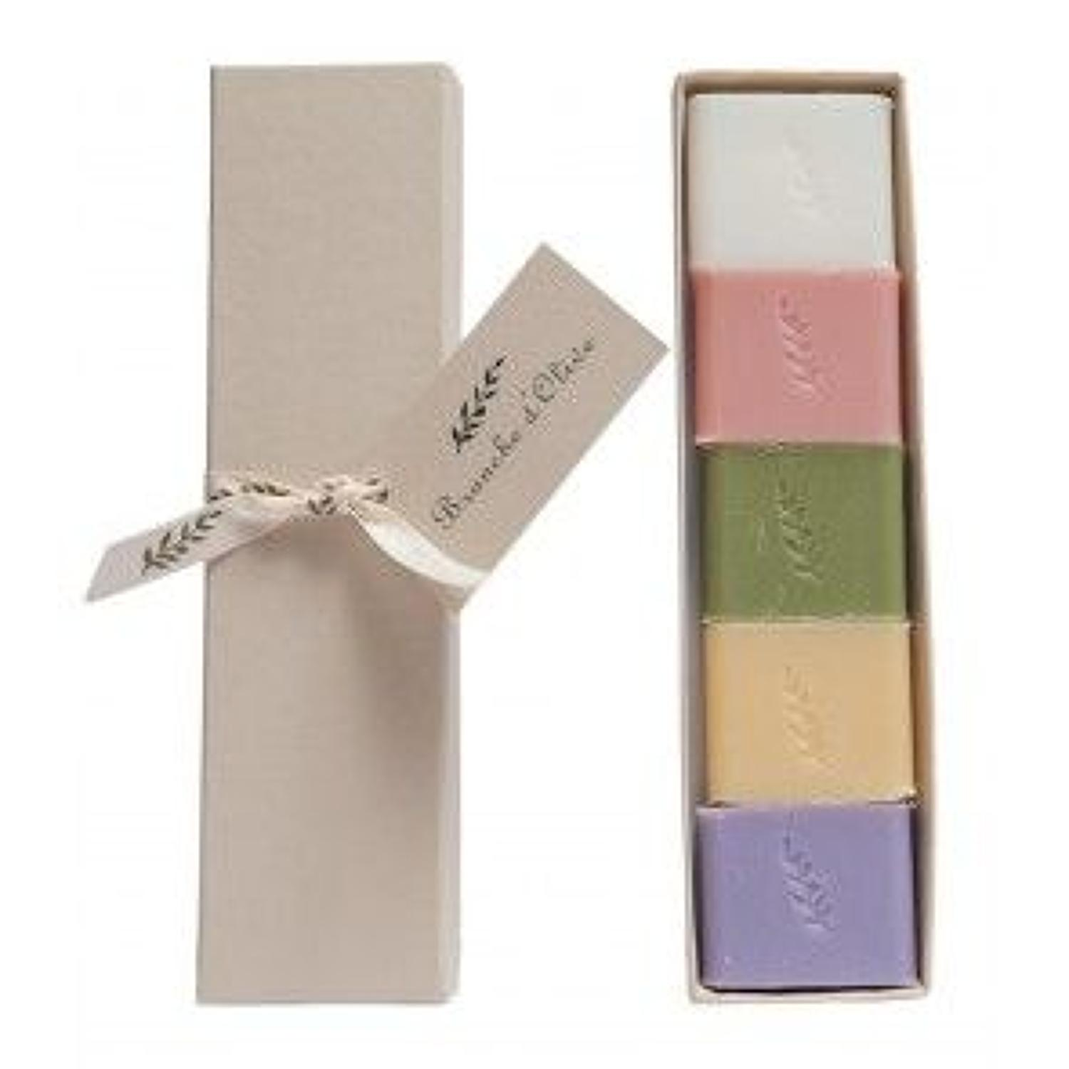 Branche de olive - Boxed guest soap - Assorted