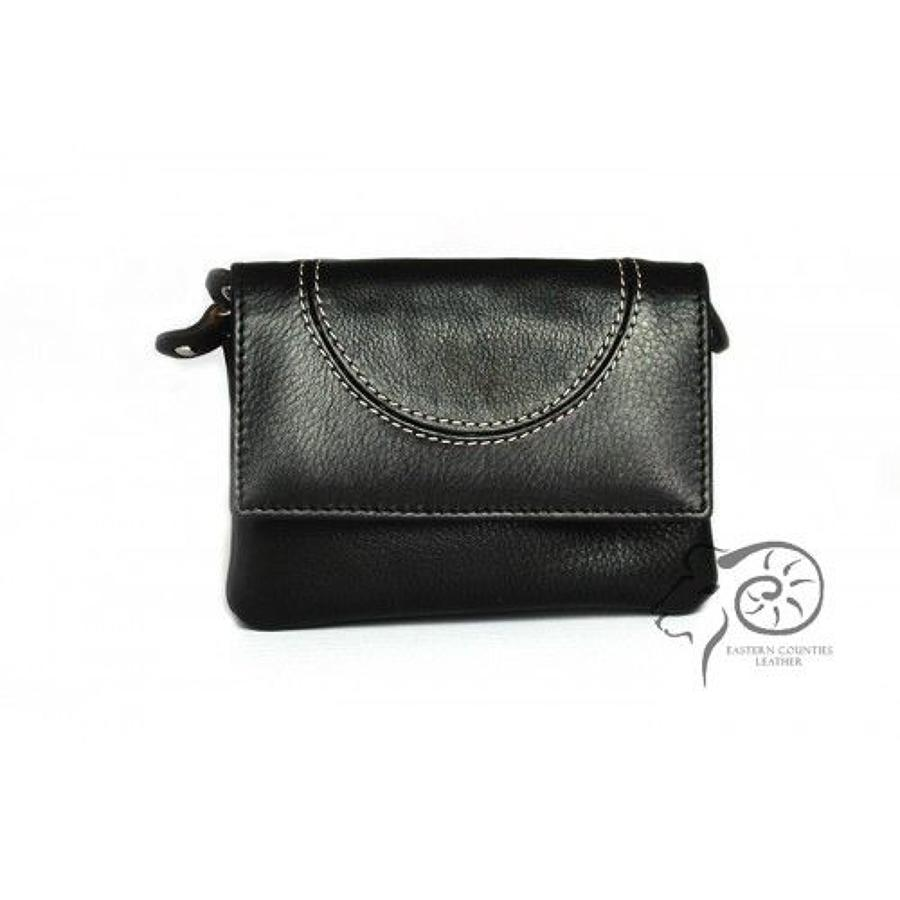 ECL - Skye leather purse - Black/Black