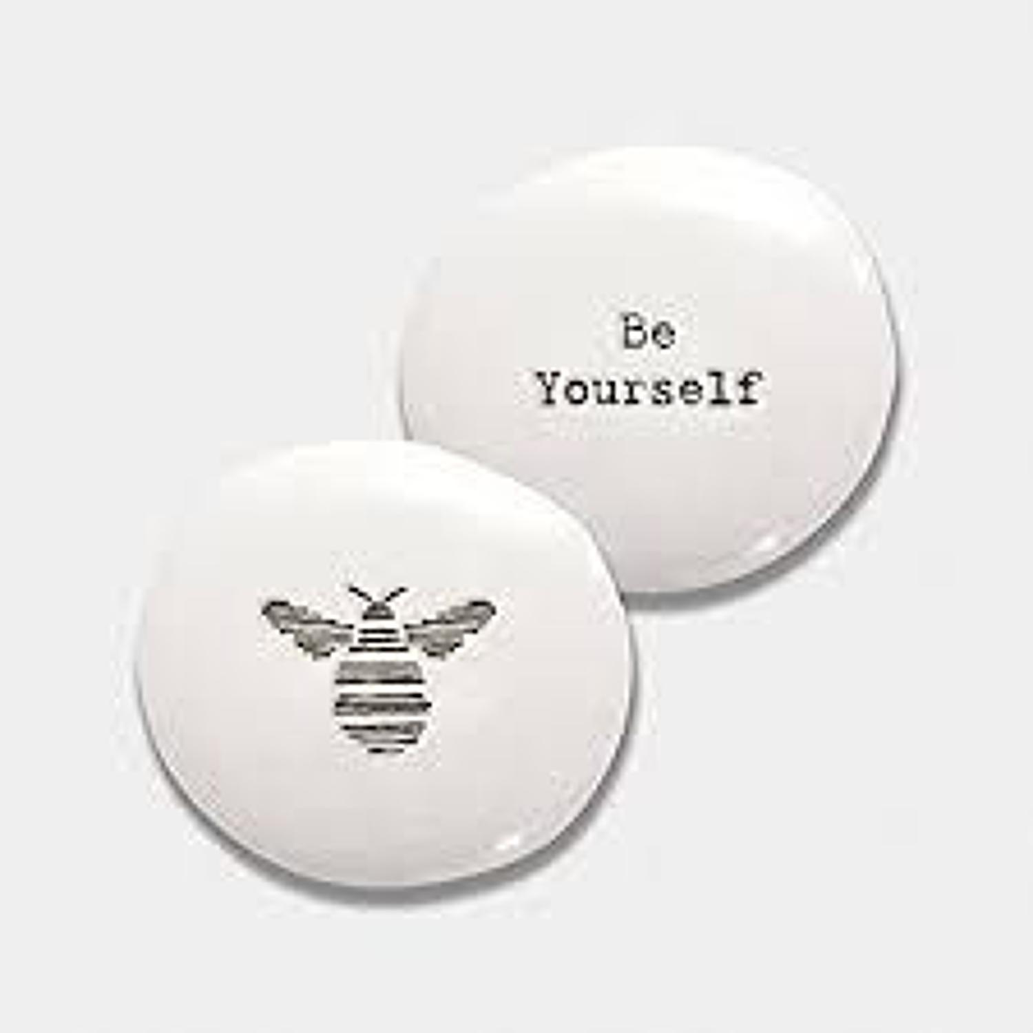 East of India - Porcelain pebble - Bee - Be yourself