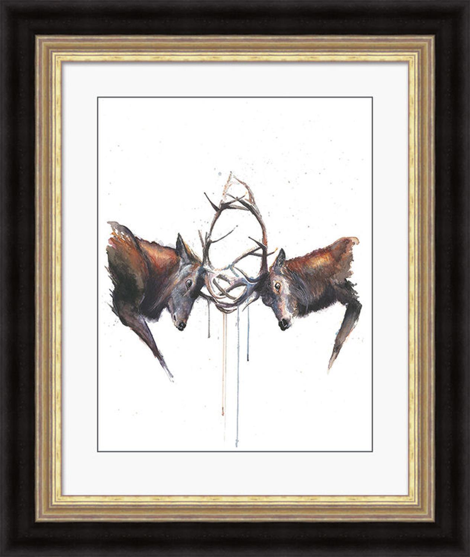 Sarah Stokes - Framed print - Headstrong