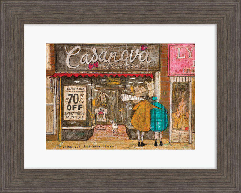 Sam Toft - Framed print - Picking out something special